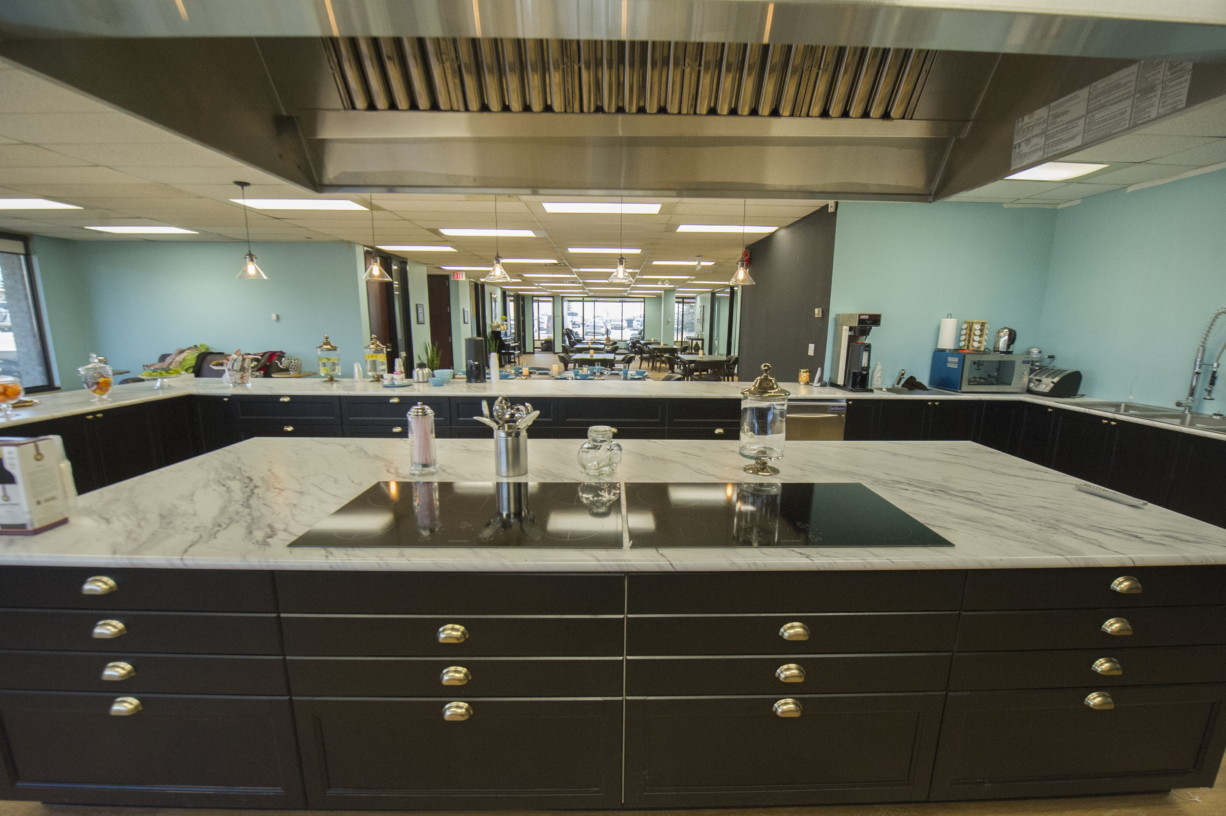 The kitchen at the memory and company alzheimers health club toronto