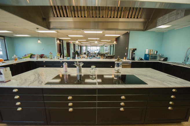 the kitchen at the Memory and Company Alzheimer's Health Club, Toronto